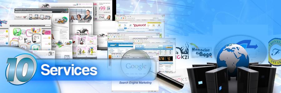 web services web design